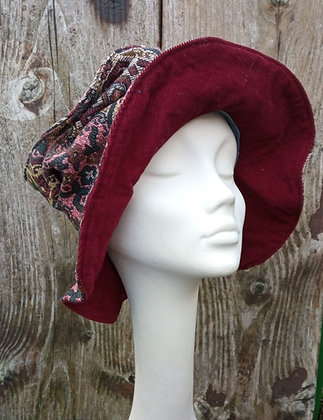 Tapestry - recycled fabric hat
