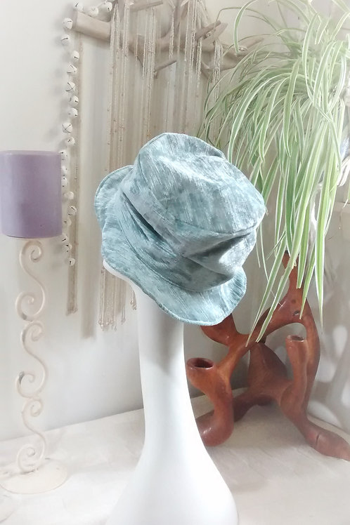 Ice Blue - recycled hat