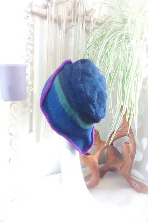 Mariana - felted hat