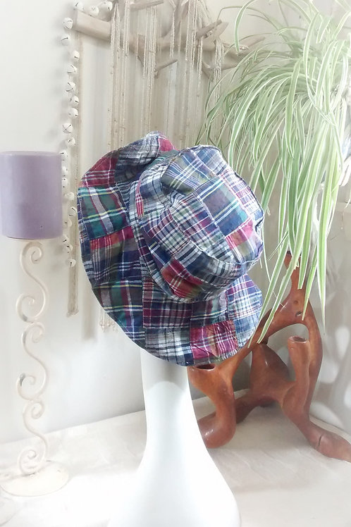 Patchwork - recycled sunhat