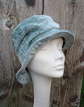 Ice blue - fabric hat