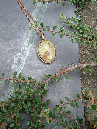 Verdant - Green Jasper Pendant