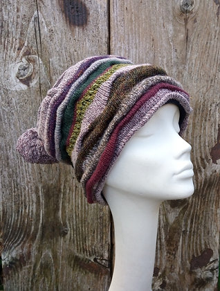 Hedgerow - knitted hat