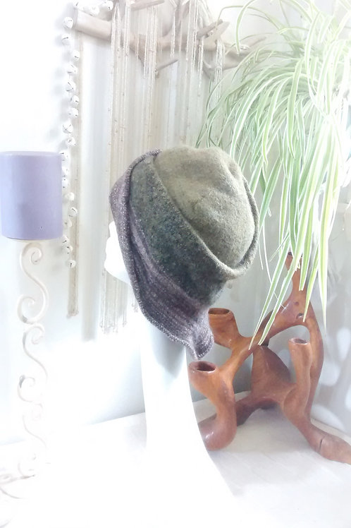Copse - felted hat