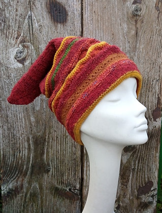 Clowning around - knitted hat