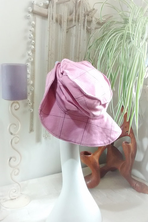 Pretty in Pink - recycled hat