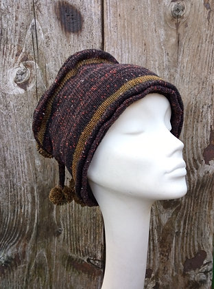 Liquorice - knitted hat