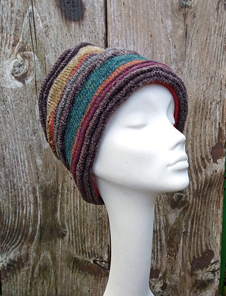 Deep forest - knitted hat