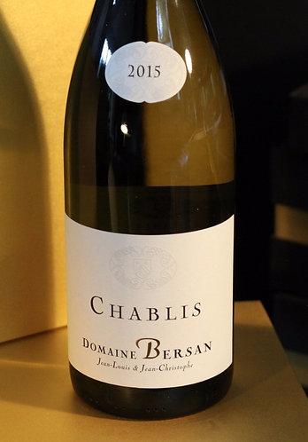 Chablis 2016 Domaine Bersan BIO