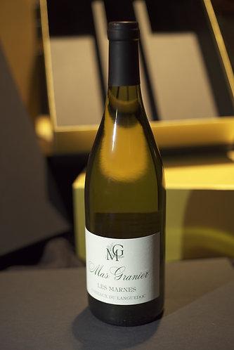 Mas Granier ¨Les Marnes¨ blanc 2015 A0C Coteaux du Languedoc