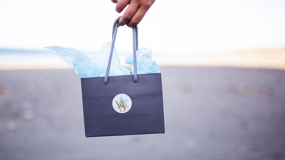 Whitby Seaglass Gift Bag & tissue