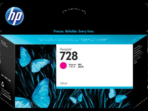HP 728 Magenta 130ml Ink Cartridge