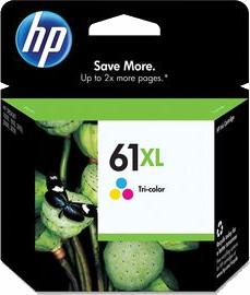 HP 61XL Tri-Colour Ink Cartridge