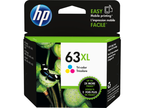 HP 63XL Tri-Colour Ink Cartridge