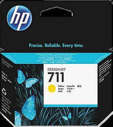 HP 711 29ml Yellow DesignJet Ink Cartridge