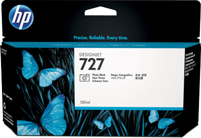 HP 727 Photo Black 130ml Ink Cartridge