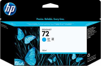 HP 72 Cyan 130ml Ink Cartridge