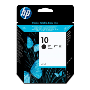 HP 10 Black 69ml Ink Cartridge