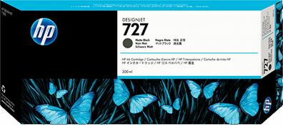 HP 727 Matte Black 300ml Ink Cartridge