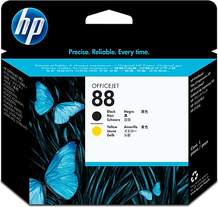 HP 88 Black & Yellow Printhead