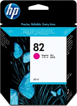 HP 82 Magenta 69ml Ink Cartridge