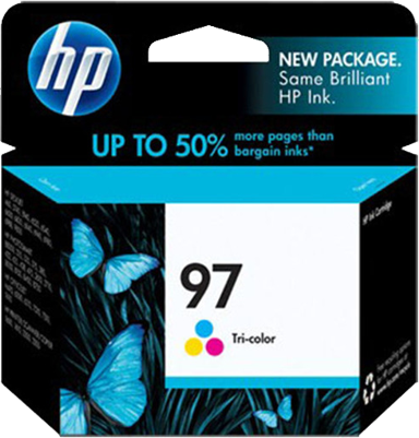 HP 97 Tri-Colour Ink Cartridge
