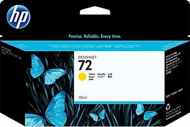 HP 72 Yellow 130ml Ink Cartridge