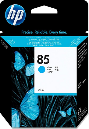 HP 85 Cyan 28ml Ink Cartridge