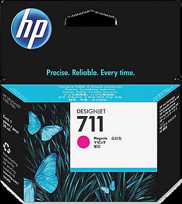 HP 711 29ml Magenta DesignJet Ink Cartridge