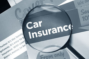 Car insurance and breakdown cover leafle