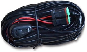LED WORK LT RELAY HARNESS W/SWITCH #THL-L-RELAY02