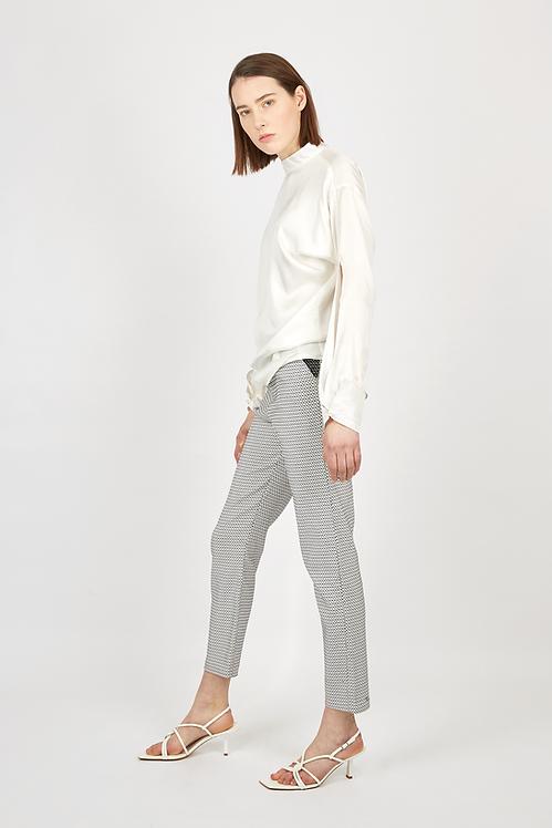 Grey pencil pants