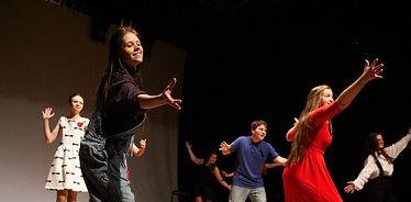 театральная студия , уроки сценического движения