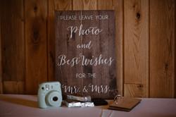 Photo Table Signage