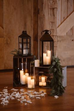 Lanterns, Crates, Candles