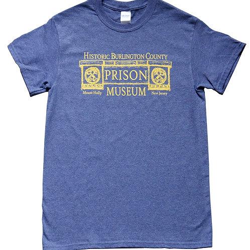 Blue Adult Tshirt with logo