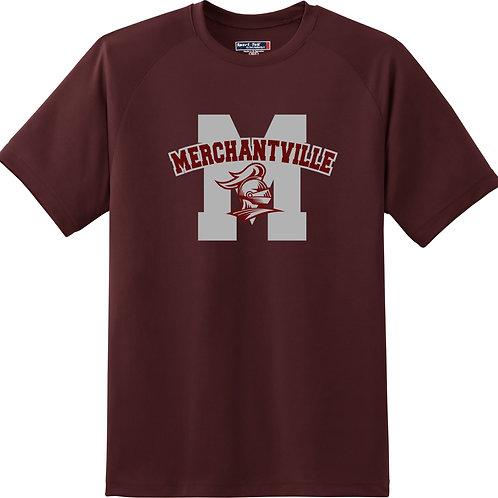 Short Sleeve Maroon T-Shirt