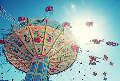 Riesenrad auf dem Münchner Oktoberfest