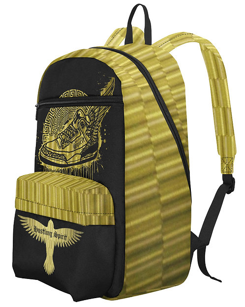 Footsteps Gold Large Capacity Travel Backpack