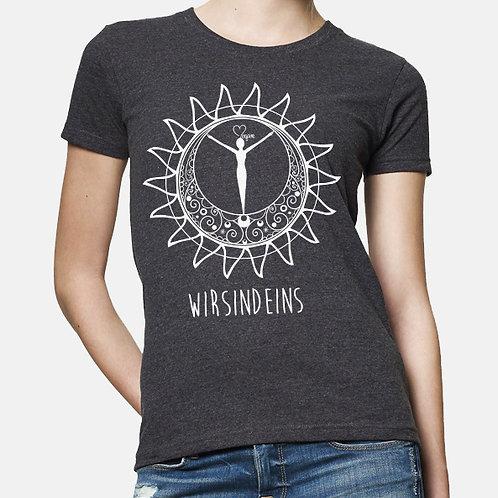 WIR SIND EINS - Girlie-Shirt