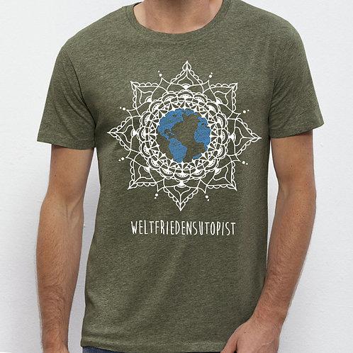 WELTFRIEDENSUTOPIST - Unisex-Shirt