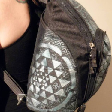 Custom Airbrushed and Handpainted Backpack (2012)