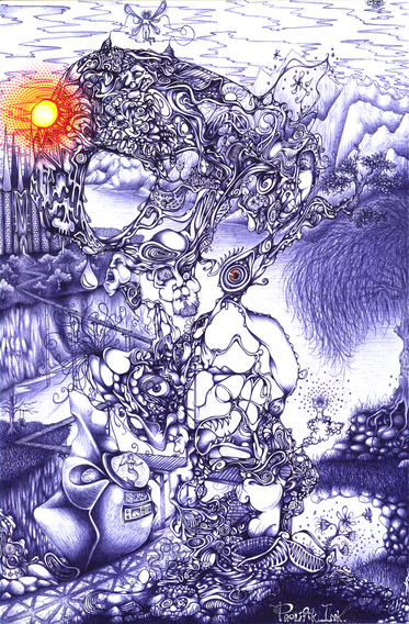 """""""Pathway to the Minds Eye"""" (2005)"""