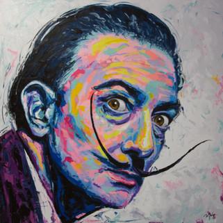 Dali's portrait (Sold)