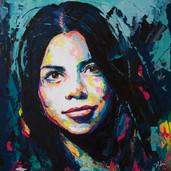 Carmen's portrait (Sold)