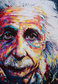 Einstein's portrait (Sold)