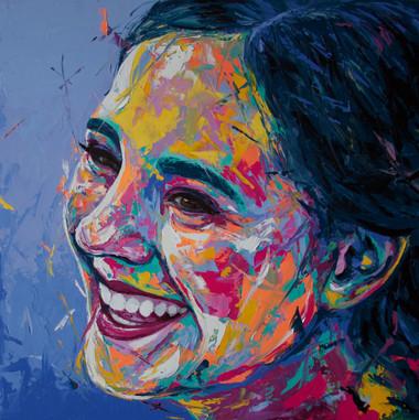 Cristina's portrait (Sold)