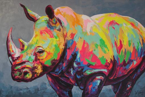 Rhino No. 3 (Sold)
