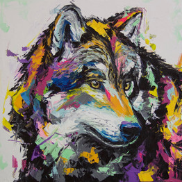 Gray wolf (Sold)