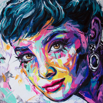 Audrey's portrait (Sold)